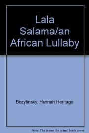 LALA SALAMA by Hannah Heritage Bozylinsky