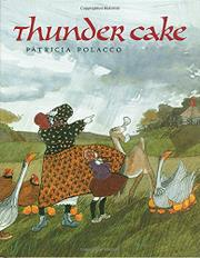 Book Cover for THUNDER CAKE