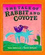 Cover art for THE TALE OF RABBIT AND COYOTE