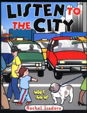 Book Cover for LISTEN TO THE CITY