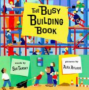 Cover art for THE BUSY BUILDING BOOK
