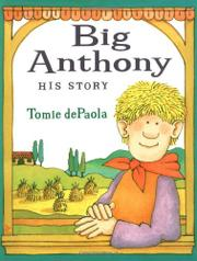 Book Cover for BIG ANTHONY