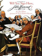 Cover art for WILL YOU SIGN HERE, JOHN HANCOCK?