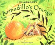Cover art for ARMADILLO'S ORANGE