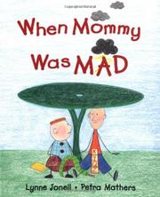 Book Cover for WHEN MOMMMY WAS MAD
