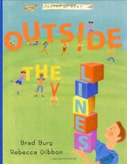OUTSIDE THE LINES by Brad Burg