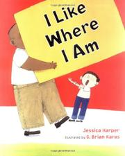 Book Cover for I LIKE WHERE I AM