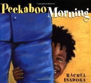 Cover art for PEEKABOO MORNING