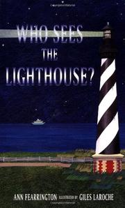 Cover art for WHO SEES THE LIGHTHOUSE?