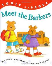MEET THE BARKERS by Tomie dePaola