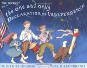Book Cover for THE JOURNEY OF THE ONE AND ONLY DECLARATION OF INDEPENDENCE