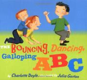 Cover art for THE BOUNCING, DANCING, GALLOPING ABC