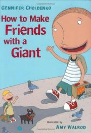 Book Cover for HOW TO MAKE FRIENDS WITH A GIANT