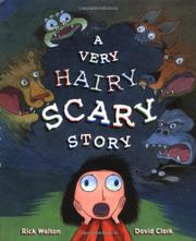 Book Cover for A VERY HAIRY SCARY STORY