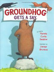 Book Cover for GROUNDHOG GETS A SAY