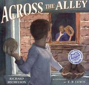 Book Cover for ACROSS THE ALLEY