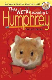 Cover art for THE WORLD ACCORDING TO HUMPHREY
