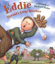 EDDIE: HAROLD'S LITTLE BROTHER by Ed Koch