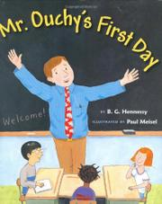 MR. OUCHY'S FIRST DAY by B.G. Hennessy
