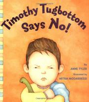 TIMOTHY TUGBOTTOM SAYS NO by Anne Tyler