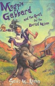 Cover art for MAGPIE GABBARD AND THE QUEST FOR THE BURIED MOON
