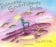 Book Cover for PRINCESS SMARTYPANTS RULES