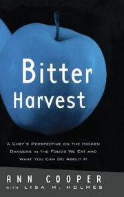 Cover art for BITTER HARVEST