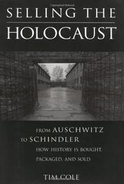 Cover art for SELLING THE HOLOCAUST