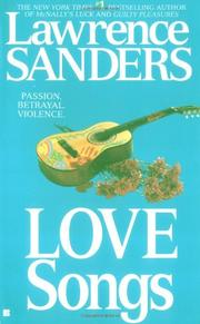 LOVE SONGS by Lawrence Sanders