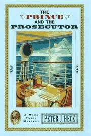 Cover art for THE PRINCE AND THE PROSECUTOR