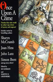 ONCE UPON A CRIME by Ed Gorman
