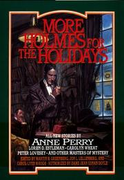 Cover art for MORE HOLMES FOR THE HOLIDAYS