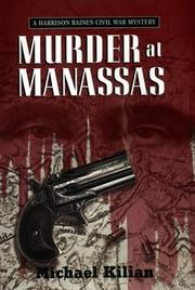 Cover art for MURDER AT MANASSAS