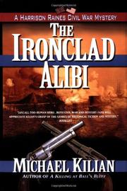 Cover art for THE IRONCLAD ALIBI