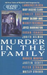 MURDER IN THE FAMILY by Adams Round Table
