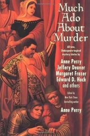 MUCH ADO ABOUT MURDER by Anne Perry
