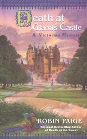Cover art for DEATH AT GLAMIS CASTLE