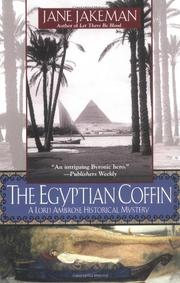 THE EGYPTIAN COFFIN by Jane Jakeman