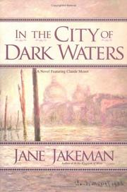 Cover art for IN THE CITY OF DARK WATERS