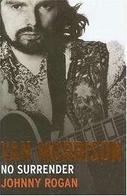Book Cover for VAN MORRISON