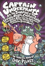 Cover art for CAPTAIN UNDERPANTS