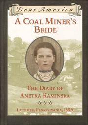 A COAL MINER'S BRIDE by Susan Campbell Bartoletti
