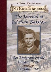 Book Cover for THE JOURNAL OF JEDEDIAH BARSTOW