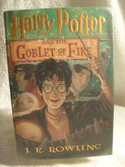 Cover art for HARRY POTTER AND THE GOBLET OF FIRE