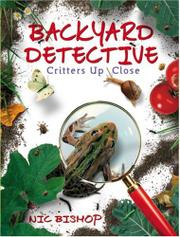Cover art for BACKYARD DETECTIVE