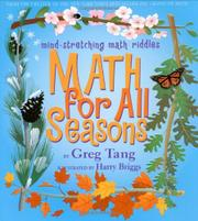 Cover art for MATH FOR ALL SEASONS