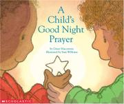 Book Cover for A CHILD'S GOOD NIGHT PRAYER
