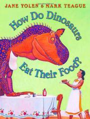 Book Cover for HOW DO DINOSAURS EAT THEIR FOOD?