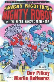 Cover art for RICKY RICOTTA'S MIGHTY ROBOT VS. THE MECHA-MONKEYS FROM MARS
