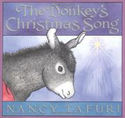 THE DONKEY'S CHRISTMAS SONG by Nancy Tafuri
